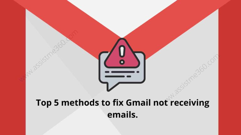 gmail not receiving email