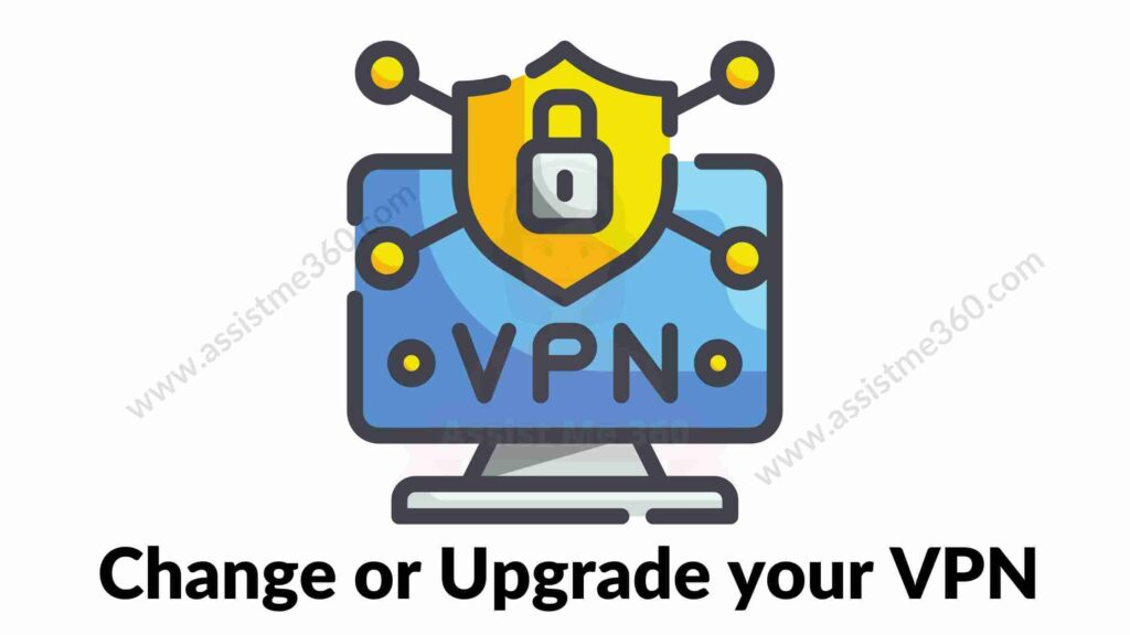 Change VPN to use Xfinity (1)
