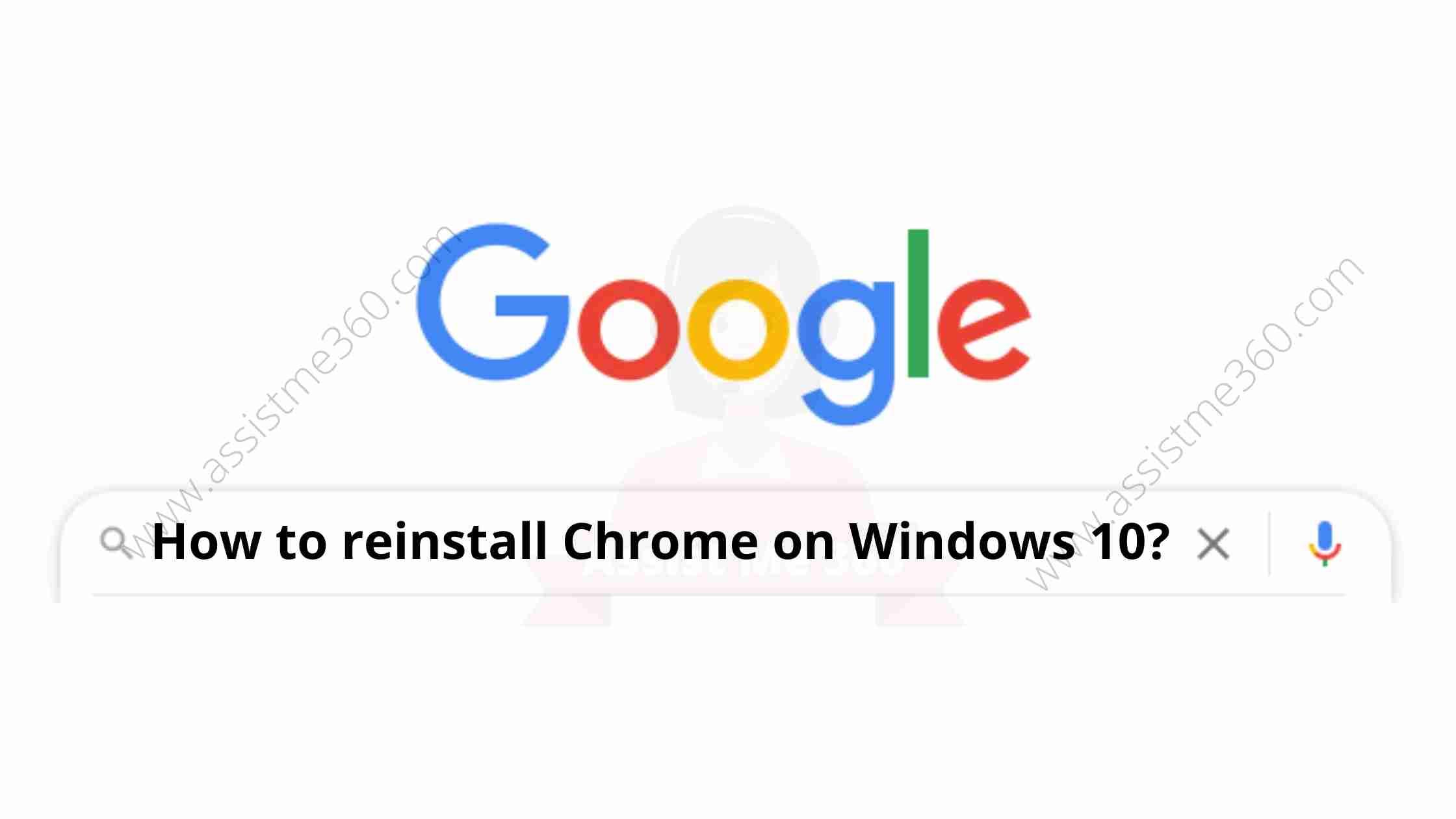 How to reinstall Chrome