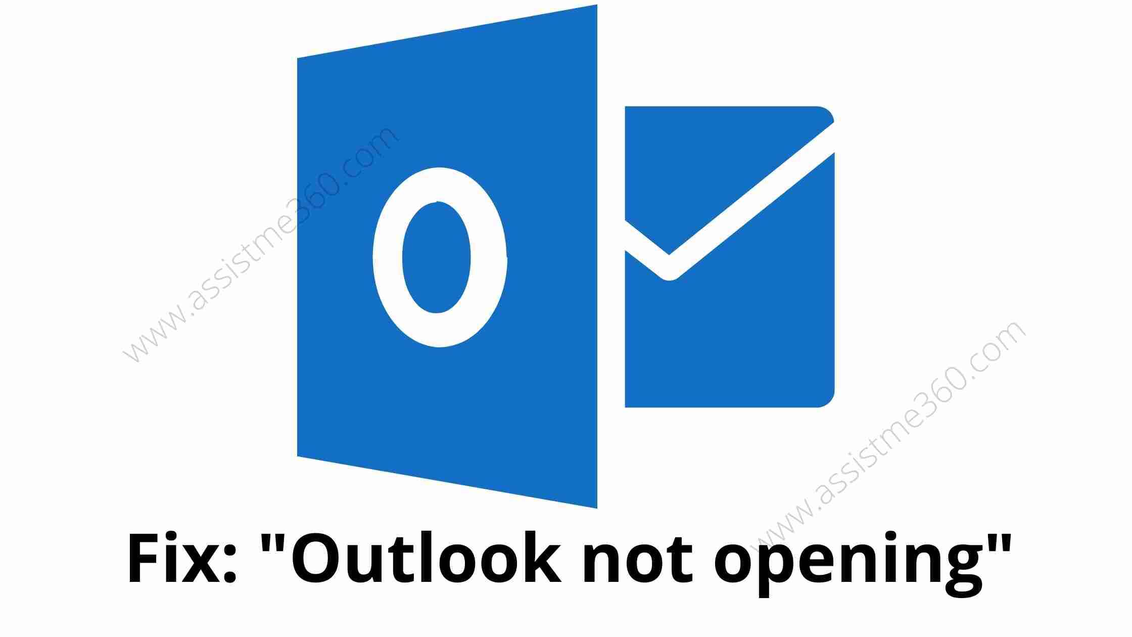 Outlook wont opening (1)