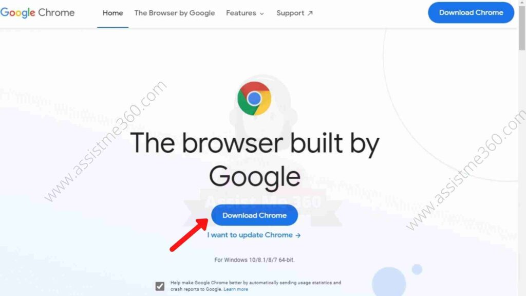 Steps to download and install chrome (4)