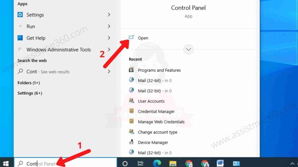 Uninstall Yahoo powered using Control Panel (1)