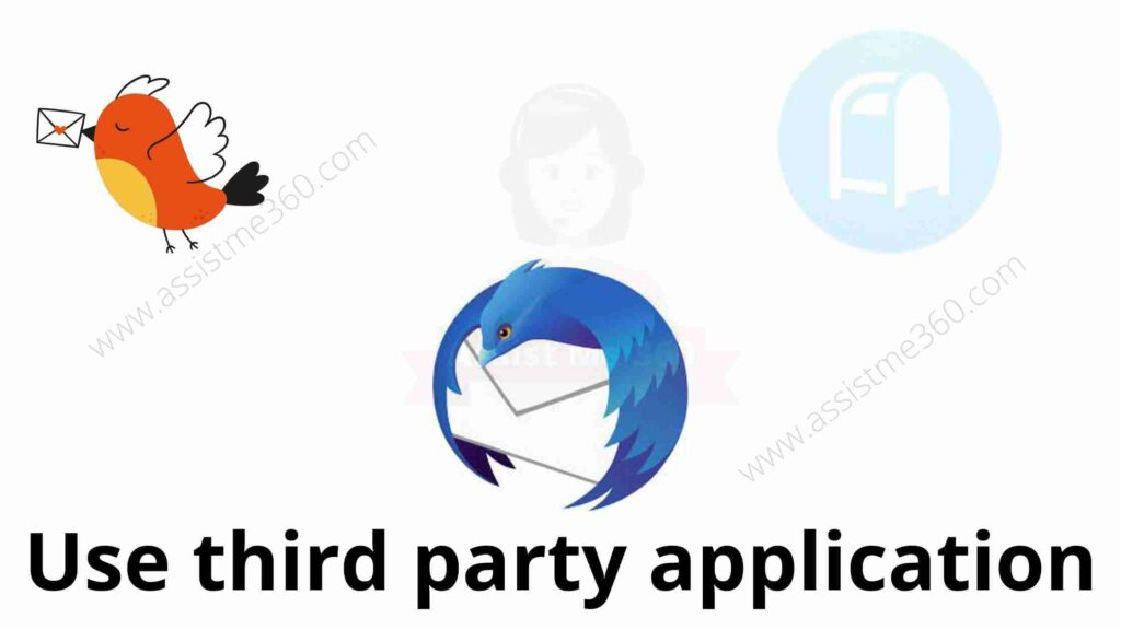 Use third party application