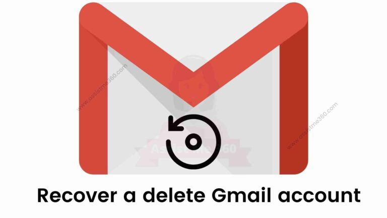 How to recover deleted gmail account