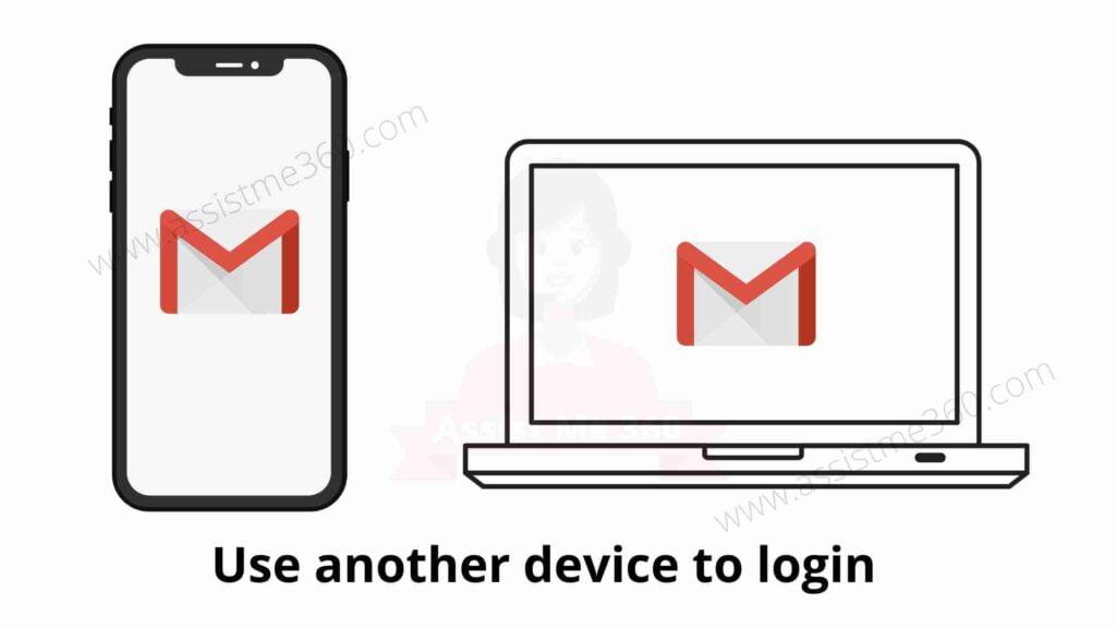 Steps to fix gmail temporary error