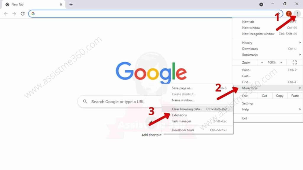 Steps to remove unwanted program on Chrome (1)
