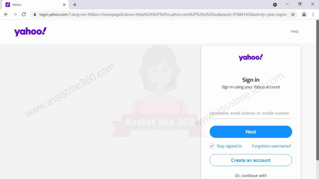 Yahoo application for windows 10 for web browser