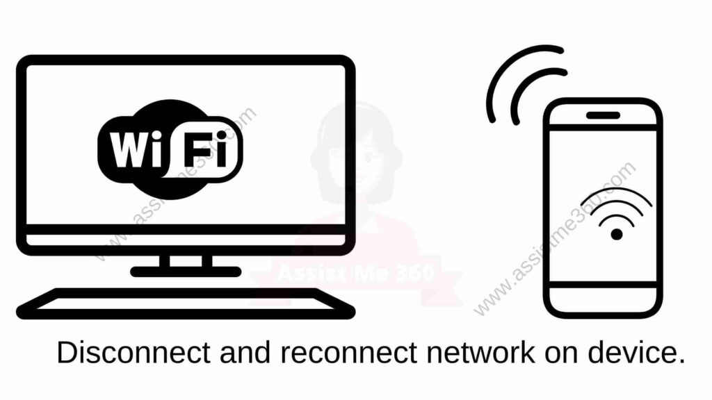 disconnect and reconnect device