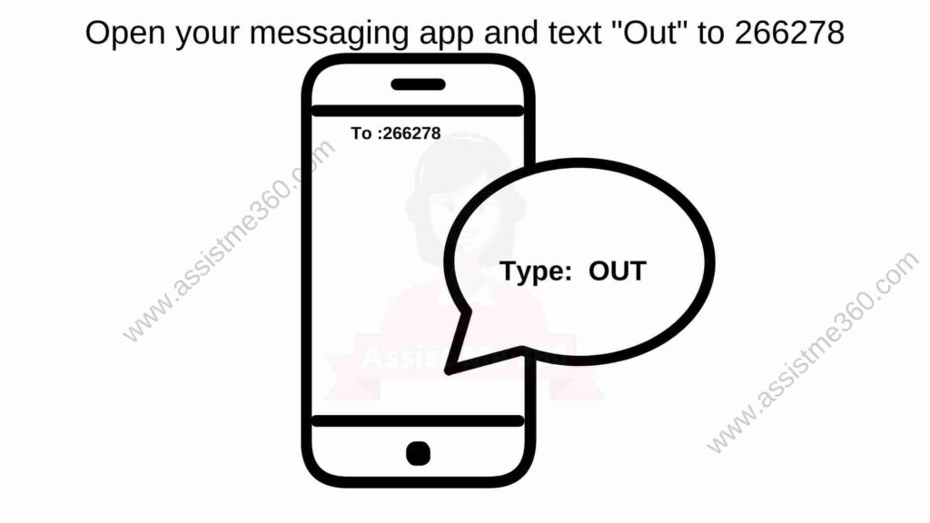 send text to know outage status