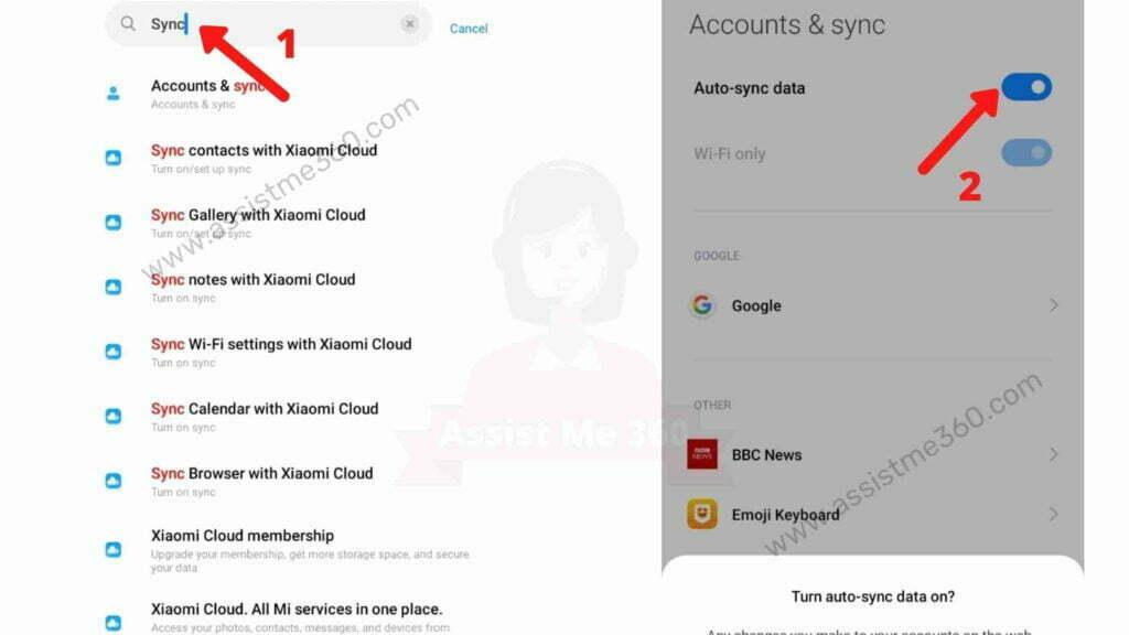 Fix Sync error in Gmail (2)