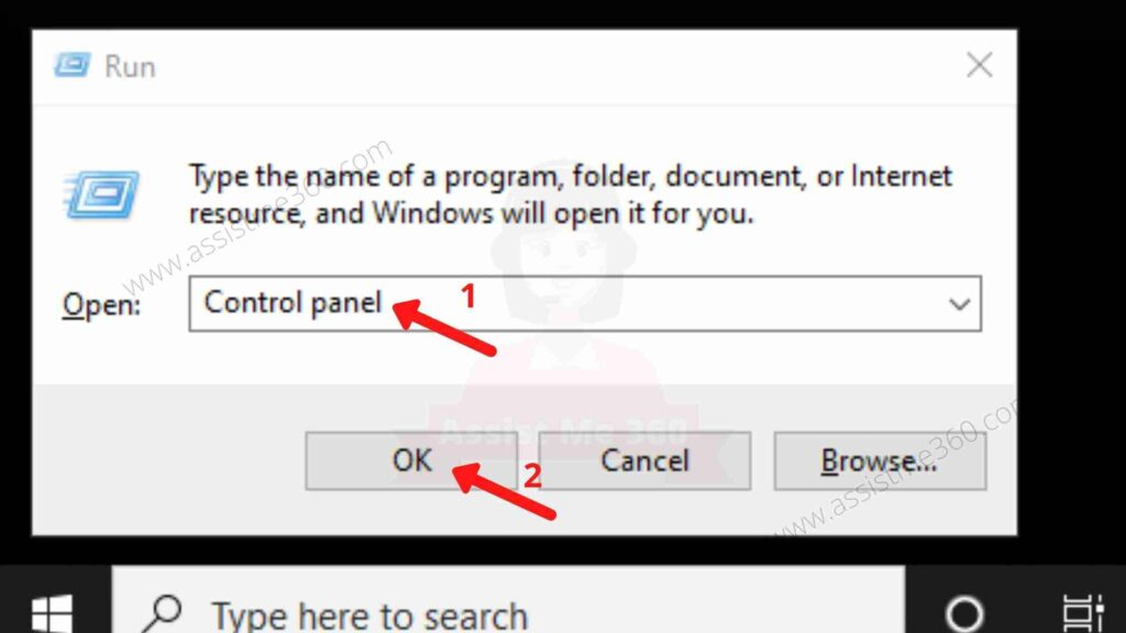Use control panel to remove unwanted program (2)