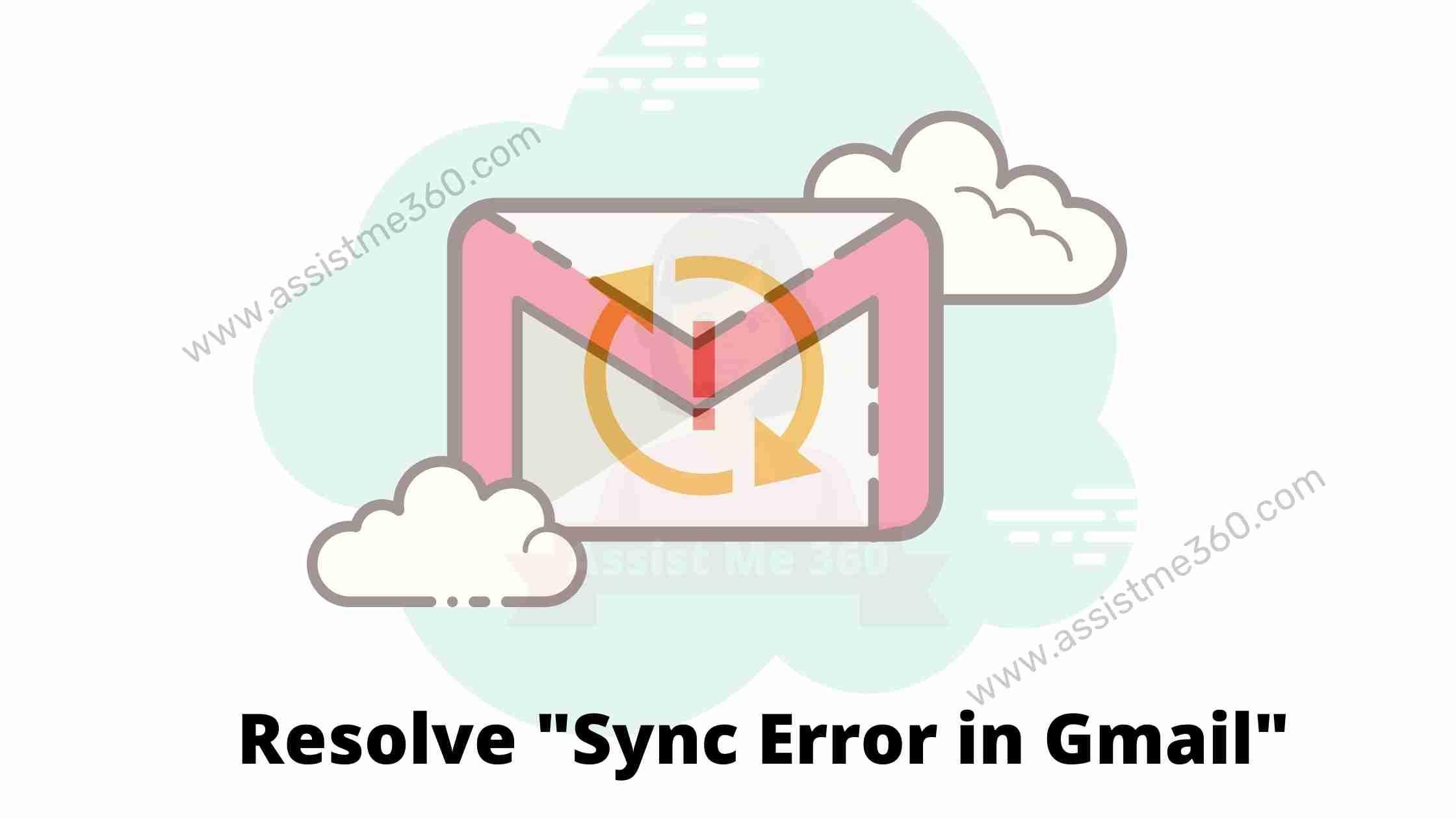 how to fix Sync error on Gmail